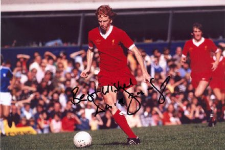 David Fairclough, Liverpool, signed 12x8 inch photo.